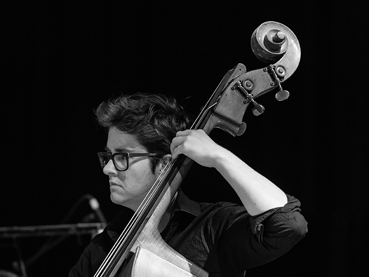 Miranda Hill - bass. BOLT Ensemble