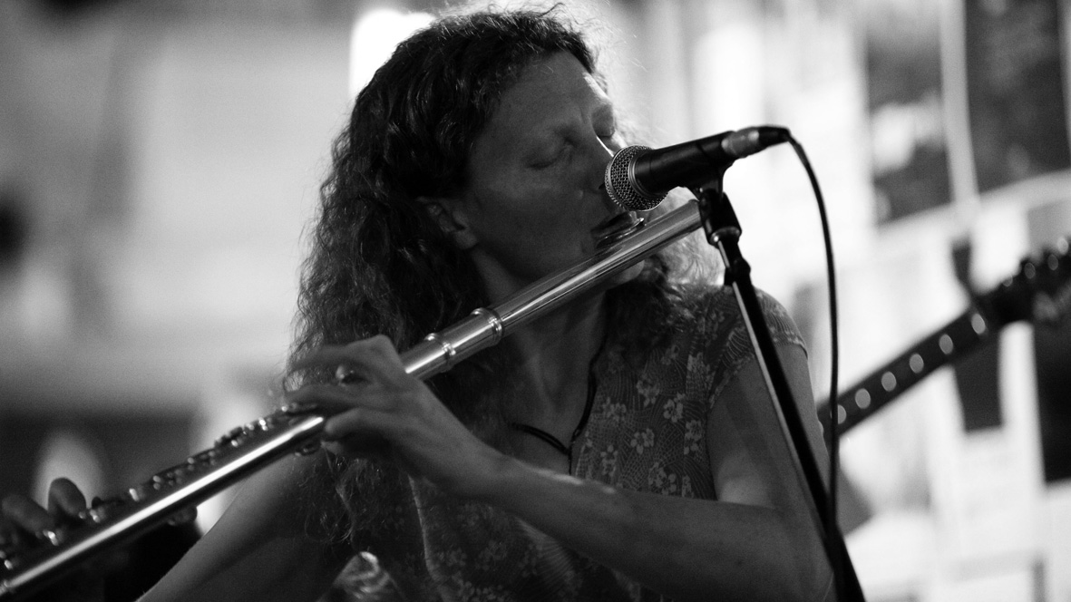 Belinda Woods - flute / ensemble leader. BOLT Ensemble